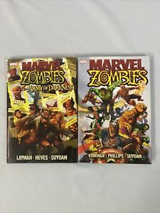 Marvel Zombies & MZ VS Army of Darkness HC 2006/2007! Suydam covers! Marvel!