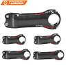 Toseek Full Carbon Fiber MTB Road Bike Handlebar Stem ±6/17° 3K Glossy Stems
