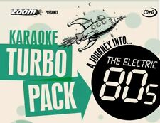 KARAOKE CDG    TURBO PACK  96 ELECTRIC  HITS from 80s    (SET  1 to 5)