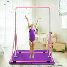Indoor Gymnastics Horizontal Bar Kids Children Training Bars Sport Equipment US