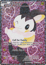 x1 Emolga - RC23/RC25 - Full Art Pokemon Legendary Treasures M/NM