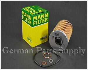 Mercedes-Benz M116 M117 Engine Oil Filter Mann Filter 0001800609/H929X Germany