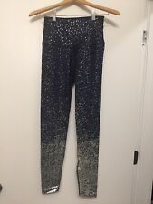 NWT! Alloy Ombre High Waisted Midi Legging Nocturnal Navy Silver Speckle Medium