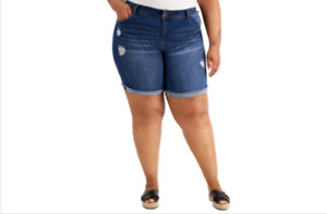 Style & Co Bermuda Women Shorts Hayden Plus 20W