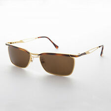 Easy Rider Metal Vintage Mens Sunglasses Tortoise and Gold - Fonda