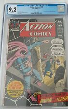 ACTION COMICS 406 NM- CGC 9.2 WHITE pages 48pg GIANT!