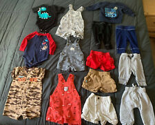 Used baby boy clothes 3-9 months 14 piece lot FREE SHIPPING
