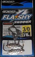 OWNER 5164-033 Flashy Swimmer w/ TwistLOCK CPS 2 Pack Size 3/0 Hook 3/16 oz