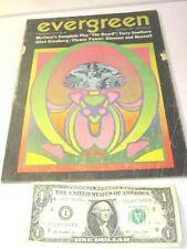 Evergreen Review Magazine No. 49 Hippie Counterculture Allen Ginsberg 60'