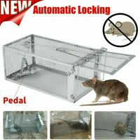 Mouse Rat Trap Cage Live Animal Pest Rodent Mouse Control Bait Catch