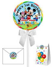40 MICKEY MOUSE CLUBHOUSE BIRTHDAY PARTY LOLLIPOP STICKERS ~ group