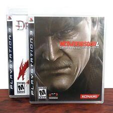PS3 Games Lot Metal Gear Solid 4 & Dragon Age Origins PlayStation 3 Bundle