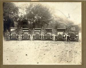 Ricordo della mitica Alfa Slesia Foto originale gelatina d'argento 1920c XL357