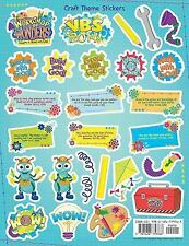 Vacation Bible School (VBS) 2014 Workshop of Wonders Craft Theme Stickers (12)