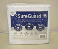 SureGuard Box Spring Encasement - 100% Waterproof, Bed Bug Proof [Queen]