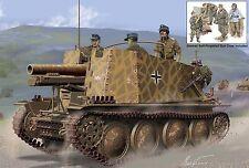 Dragon 1:35 6857: Geschützwagen 38 H für s.IG.33/1 Initial Production w/Gun Crew