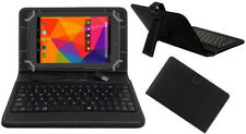 "USB KEYBOARD 7"" CASE for IBALL GORGEO 4GL TABLET LEATHER COVER +stylus"