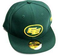 New Era CFL Edmonton Eskimos  Fitted Hat Size 7 5/8    60.6 cm   New