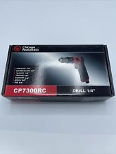 New listing Chicago Pneumatic Cp7300Rc Drill,Air-Powered,Pistol Grip,1/4 Inch