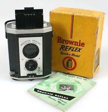 KODAK BROWNIE REFLEX SYNCHRO MODEL IN ORIG. BOX W/ MANUAL