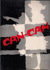 1954 Gwen Verdon CAN-CAN Cole Porter Broadway Program/Playbill NY ShubertTheatre