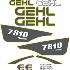 Gehl 7810 Decals - Repro Stickers Kit