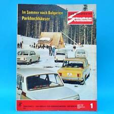 Der Deutsche Straßenverkehr 1/1975 Trabant Star Habicht Shiguli 1300 X-Werte F