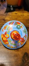 Bolz Spinning Top with Spring Ducks Beautiful Played with Condition.