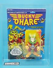 Vintage ☆ BUCKY O'HARE Action Figure ☆ GRADED 85 UKG Carded MOC Hasbro 90's Mint