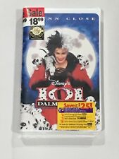 Disney's 101 Dalmatians Clam Shell Sealed New 1997 Glenn Close Live Action