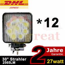 12X27w LED Zusatzscheinwerfer Traktor Scheinwerfer Arbeitslampe ATV Lichtbalken