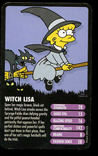 Witch Lisa The Simpsons Horror -  Top Trumps Card #C17