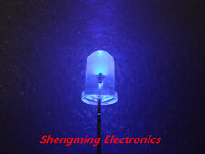 100pcs Ultra Violet UV 5mm 2000mcd LED Lamp Light Purple
