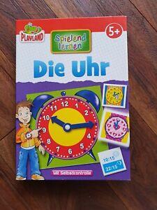 Die Uhr Playland spielend lernen - Ab 5 Jahre Uhrzeit lernen mit Selbstkontrolle