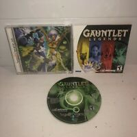 VG COND Gauntlet Legends Sega Dreamcast Game Complete CIB TESTED Fun 4 Player