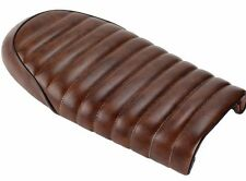 SELLE MOTO 2 PLACES VINTAGE COULEUR BRUN TABAC BIKE SEAT COVER BROWN