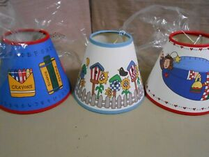 3 New Small Westwater Kids Light Lamp Shades