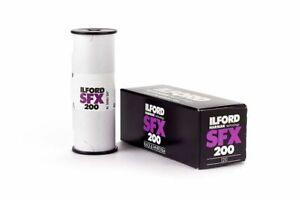 Ilford SFX 200 120 36 exp. Black & White Infrared Film Expired 7/2020