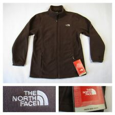 North Face Girls Brown Fleece Youth Rocky Mountain Ski Board Full Zip Jacket XL