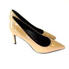 J-3324139 New Saint Laurent Nude Vitello Vernice Heels Pumps Shoe Size US 6 / 36