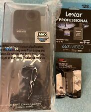 GoPro MAX 360 WATERPROOF action camera SET with Sim Card And Card Reader