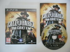 CALL OF JUAREZ THE CARTEL - PLAYSTATION 3 - JEU PS3 COMPLET