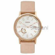 Fossil Original ES3751 Womens Vintage Muse Sand Leather Watch 40mm