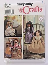 Sewing Pattern 9620 Simplicity 25 Inch Doll and Clothes by Elaine Keigl 95 Cut