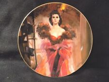 """GONE WITH THE WIND COLLECTORS PLATE """" SCARLETTS RESOLVE"""""""
