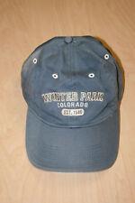 Winter Park Colorado Est. 1940 Adjustable Faded Blue Baseball Cap Hat - Ouray
