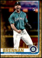 Brandon Brennan 2019 Topps Update 5x7 Gold #US11 RC /10 Mariners