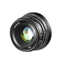 Neewer 25mm f/1.8 Manual Focus Prime Fixed Lens for Sony E-Mount Cameras