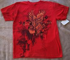 BOYS SIZE SMALL LIVE 4 EVER SHORT SLEEVE T-SHIRT NWT