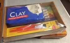 Modeling Clay Set Self hardening Detailing brushes 18 piece acrylic paint